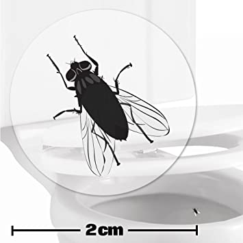 Amazon.com : TOILET TRAINING AID For Children Toddlers Boys Funny Bathroom/Restroom Potty Urinal Trainer 10 x FLY TARGET STICKERS (2cm) : Wall Decor ...