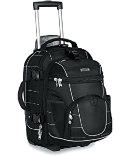 Amazon.com: High Sierra Ultimate Access 2.0 Carry On Wheeled ...