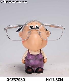 9115efa137e READING GLASSES HOLDER STAND NOSE RACK SPECTACLE GIFT SUNGLASSES SPECS SUN  SET (Grandma)