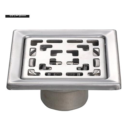 HCP Acero Inoxidable Desagüe de Suelo/baño lavadora desagüe olor ...