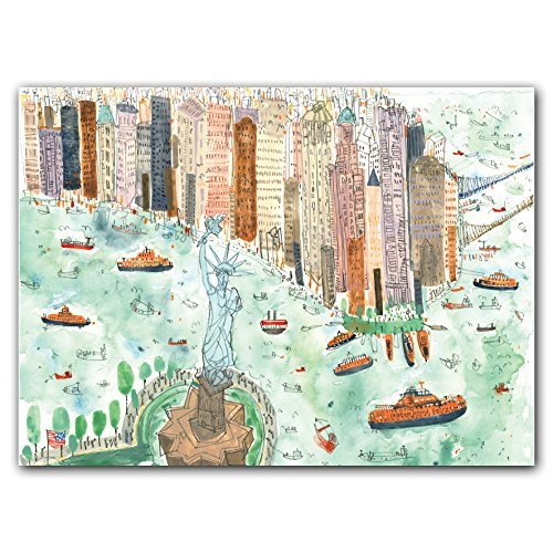 Manhattan Stationary - New York, New York Notecard Box all occasion stationery, museum quality box of blank notecards