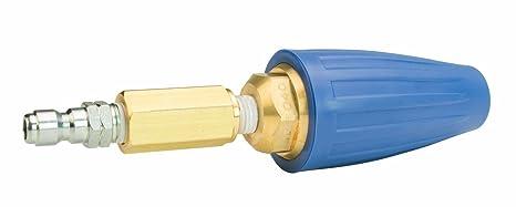 Erie herramientas limpiador a presión rotación Turbo boquilla 5000 PSI, 4,5 orificio con