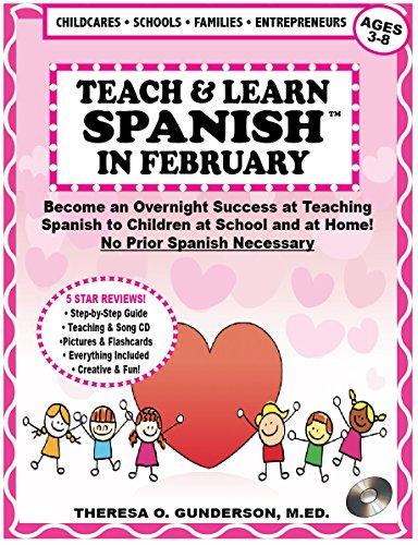 Amazon com: Teach & Learn Spanish in February: Become an Overnight
