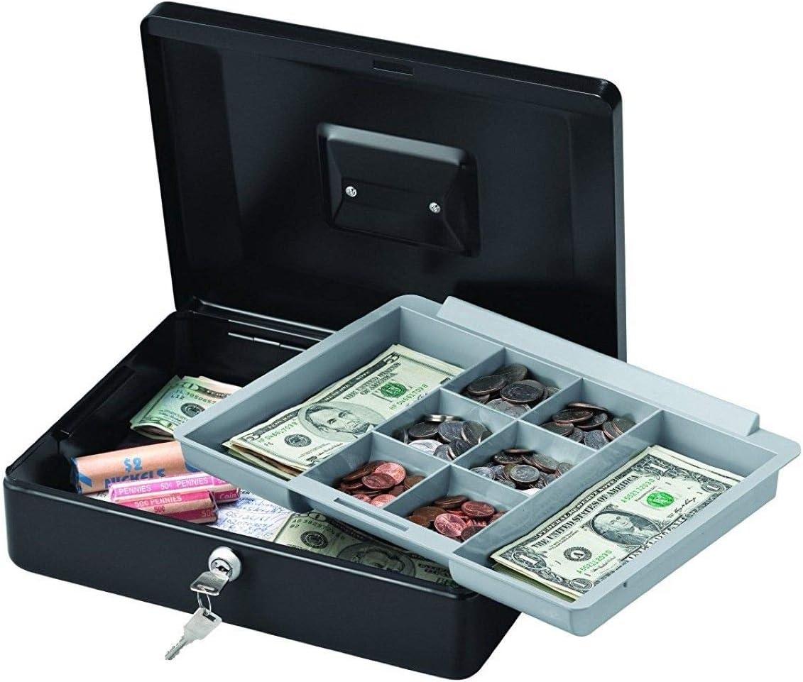 Xnonix Caja de Seguridad para Dinero en Efectivo, Caja de Almacenamiento de Joyas Safelock portátil Mediano: Amazon.es: Deportes y aire libre