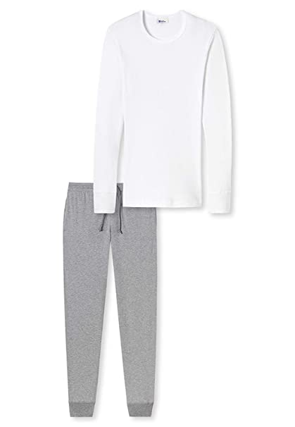 Schiesser Renacimiento, Hombre Set Pantalones Nick & Camiseta ...