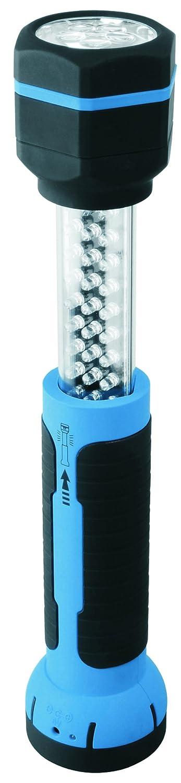 Smartwares - Linterna multiusos, LED, Telescópica, Batería y cargadores ELRO FL306