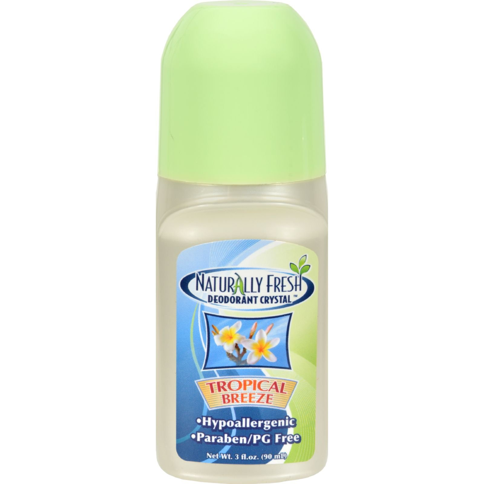 Naturally Fresh Roll On Deodorant Tropical Breeze -- 3 oz