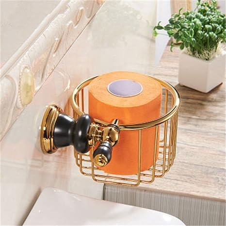 Euro-Cobre Oro Viejo Negro baño Toallas de baño Toalla Estante Hardware de Montaje en