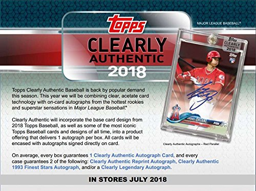 uthentic Baseball Hobby Box (1 Pack/1 Autograph) ()