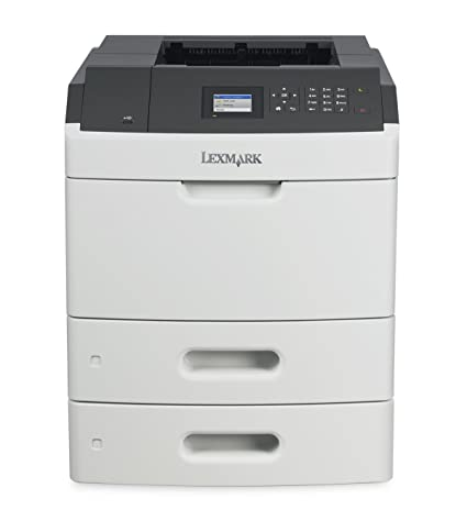 amazon com lexmark ms810dtn monochrome laser printer with 550 sheet