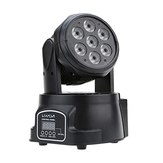 25 opinioni per Lixada DMX-512 Mini 4 in 1 RGBW LED Fase