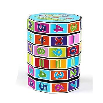 Amazon Es 1pc Digital Columna Digital Cubo Juguete Jardin De