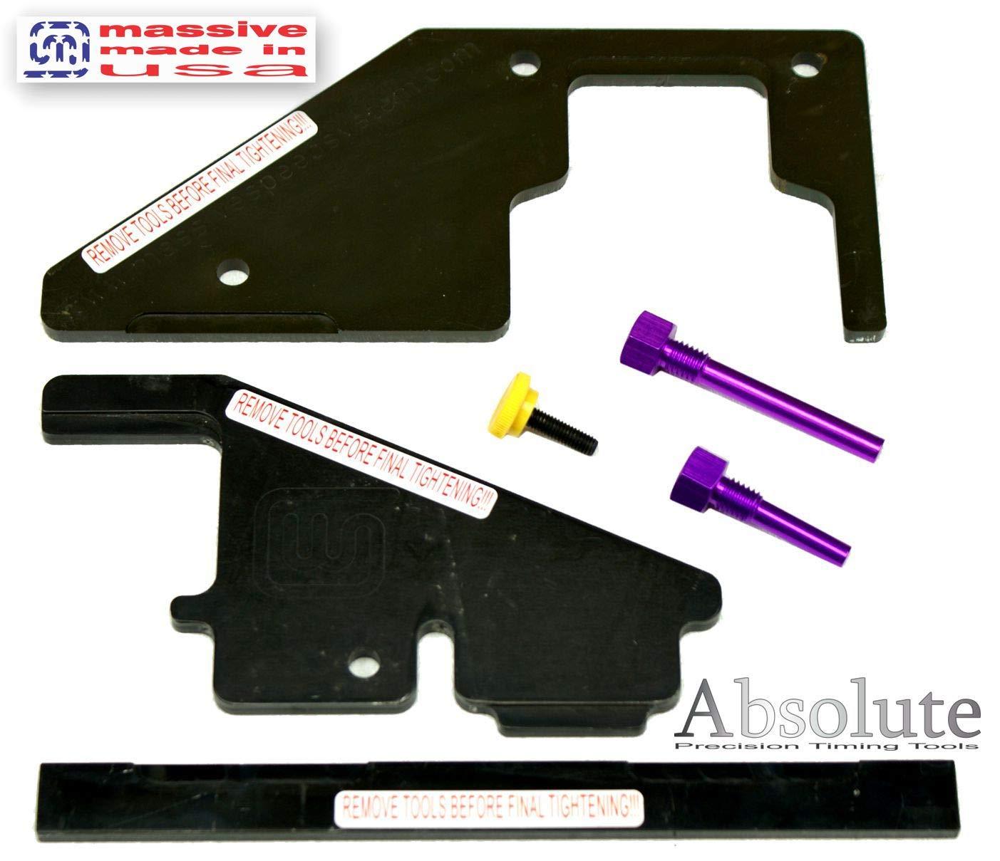 Cam de precisión maletín con juego de herramientas para Ford/Mazda Zetec, Duratec motores y MZR 2.0 2.3 2.5 Focus Ti-vct gtdi Fusion Escape ...