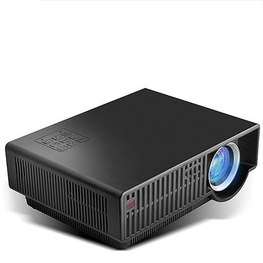JIANFCR Proyector De Vídeo HD LED Efecto De Luz Máximo Disponible ...