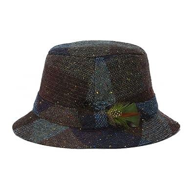 102290e0759 Hanna Vintage Heather Tweed Walking Hat-WineHeather-Large at Amazon Men s  Clothing store
