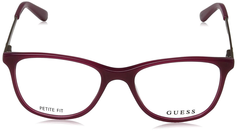 STRAWBERRY women Guess-GU2566 ,//135 075 A Cat Eye acetate