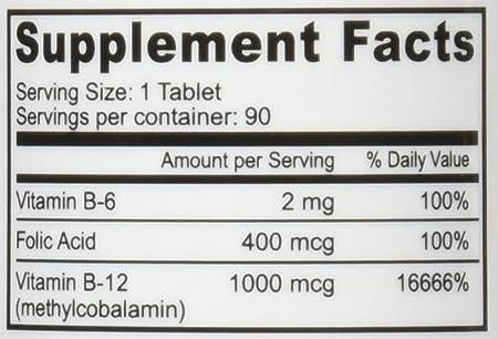 Deva Vegan Vitamins Sublingual B12 1000 mcg Tablets, 90 Count: Amazon.es: Salud y cuidado personal