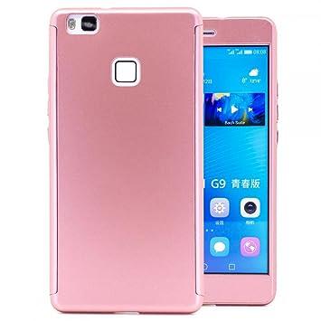 COOVY® Funda para Huawei P9 Lite / G9 Lite 360 Grados, Carcasa Ultrafina y Ligera, con Protector de Pantalla, protección de Cuerpo Completo | Color ...