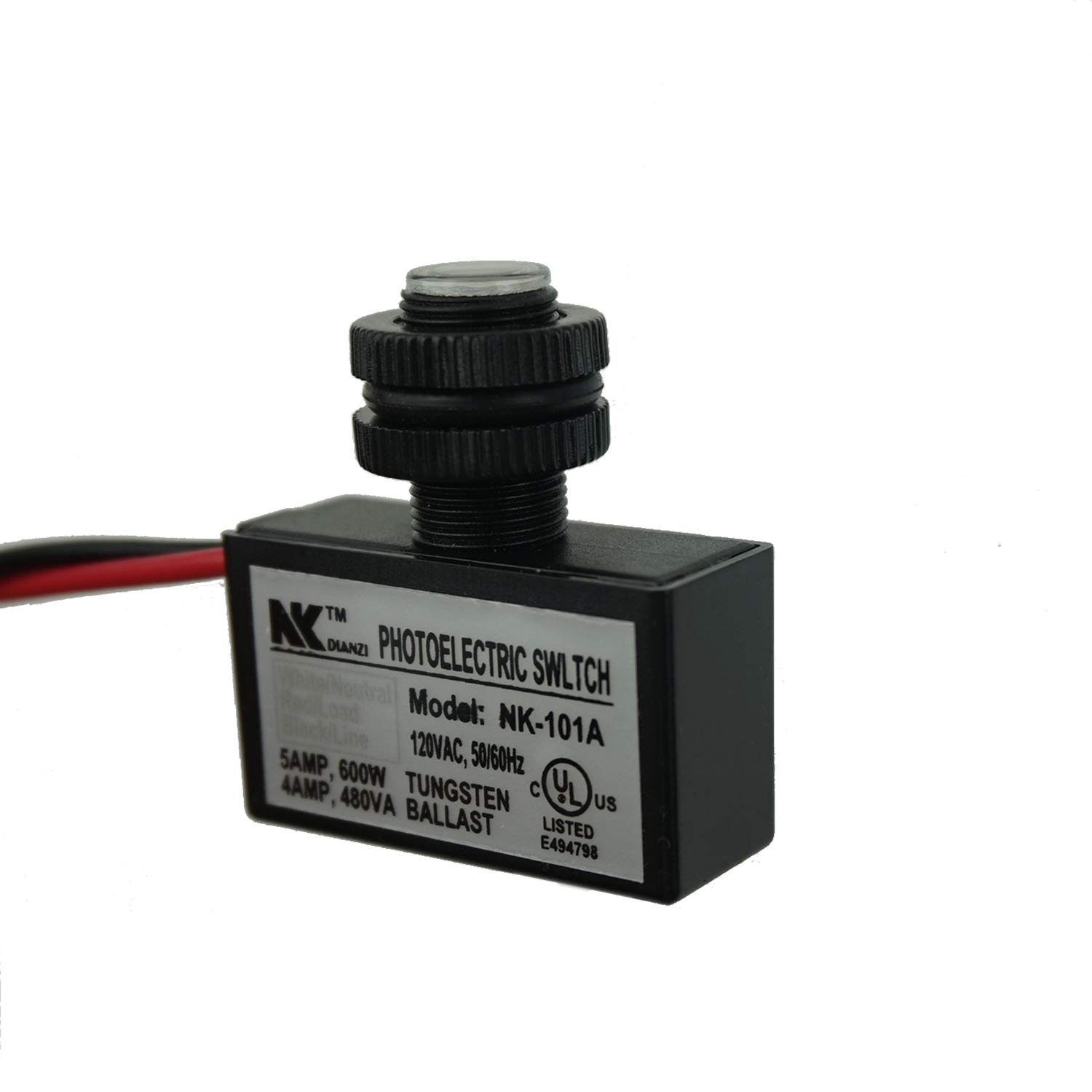 Proshopping AC 120V Outdoor Sensor Photoelectric Switch