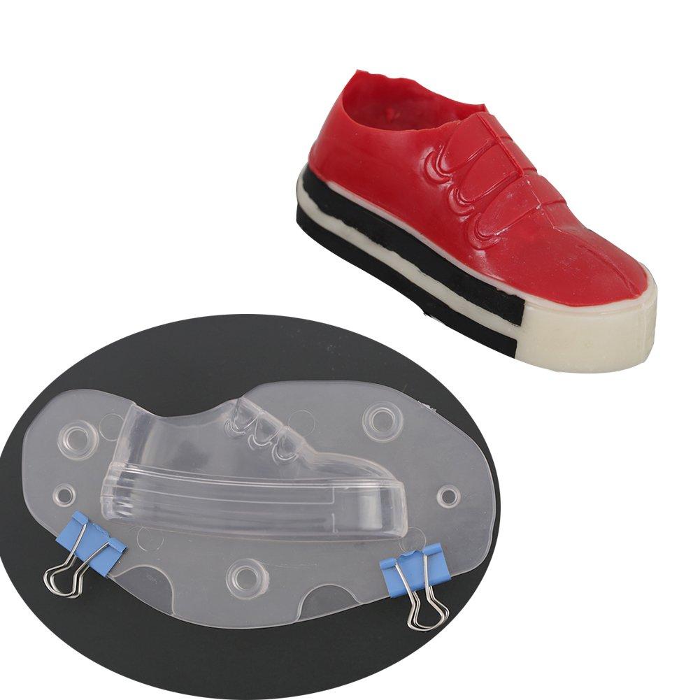 3D Children's Shoe PC Polycarbonate Chocolate Mold DIY Candy Fondant Sugarcraft Mould (Children's Shoe)