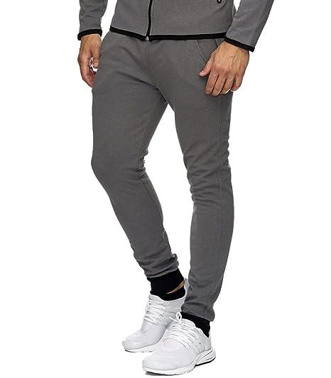 MonsieurMode Pantalon de Jogging Homme Sport Bas de