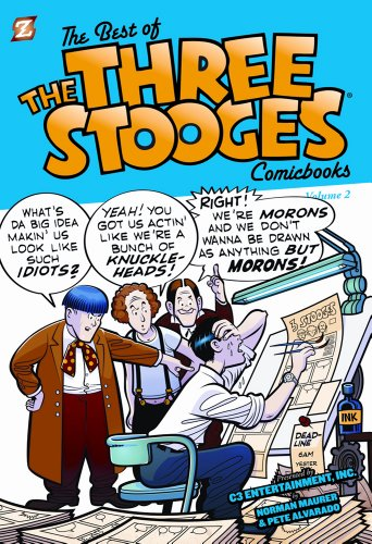 Image of Best of the Three Stooges Comicbooks #2, The (The Best of the Three Stooges)