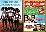 Stripes Bill Murray + The Three Amigos Comedy Feature Groundhog Day / Ghostbusters triple films