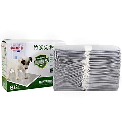 Pañales de perro Bambú Carbón de Orina no está húmedo Pad Agua Absorción Deodorant , m