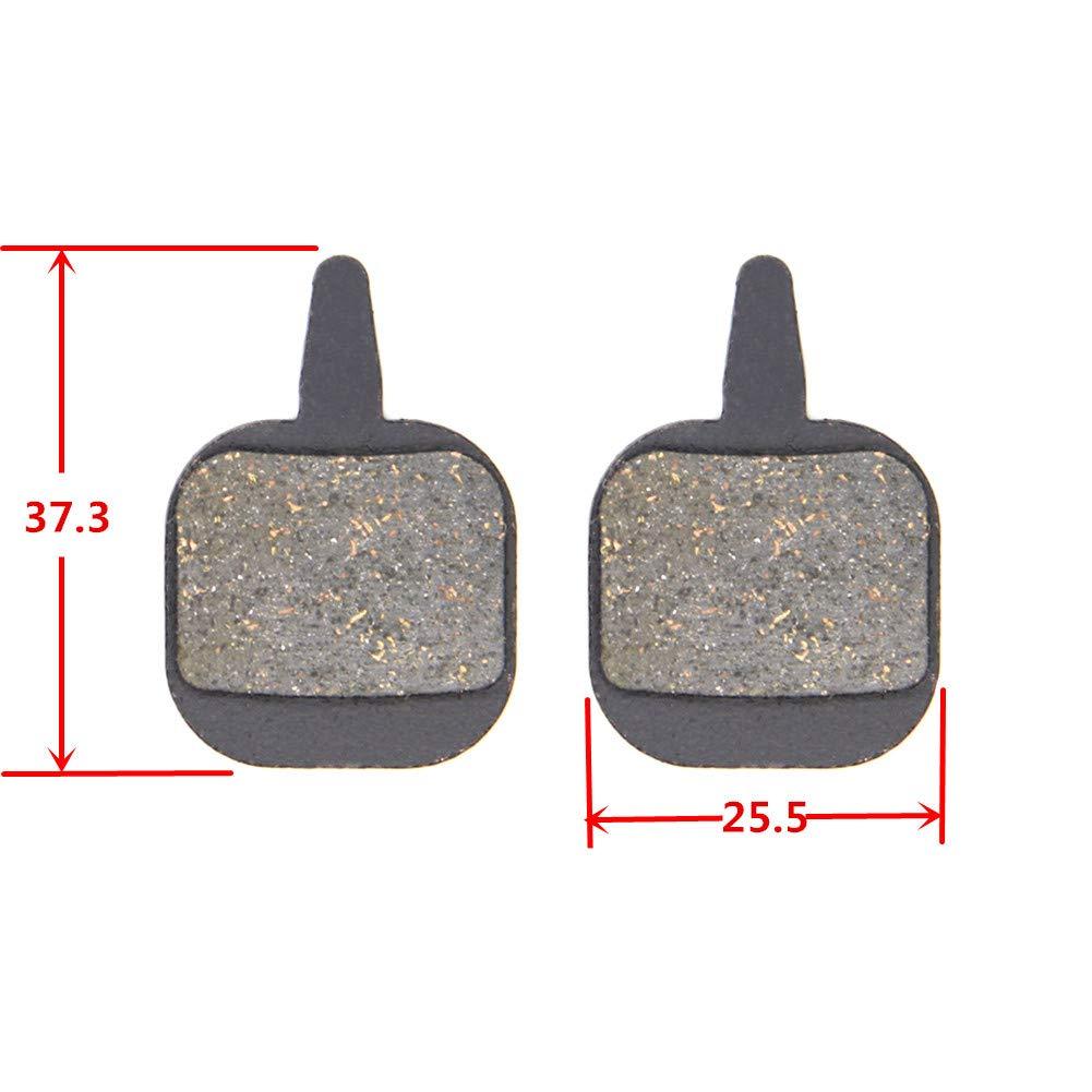 SOMMET Pastillas Freno Disco Semi-met/álico para Tektro IO//Novela//Aquila//Old Gemini//Hydraulic//Mechanical N11.11 ZSP13-1