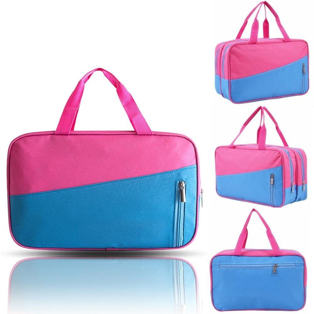 AOLVO Beach Swim Bag, Wet Dry Gym Sports Tote Bag, Water Proof Outdoor Travel Storage Bag