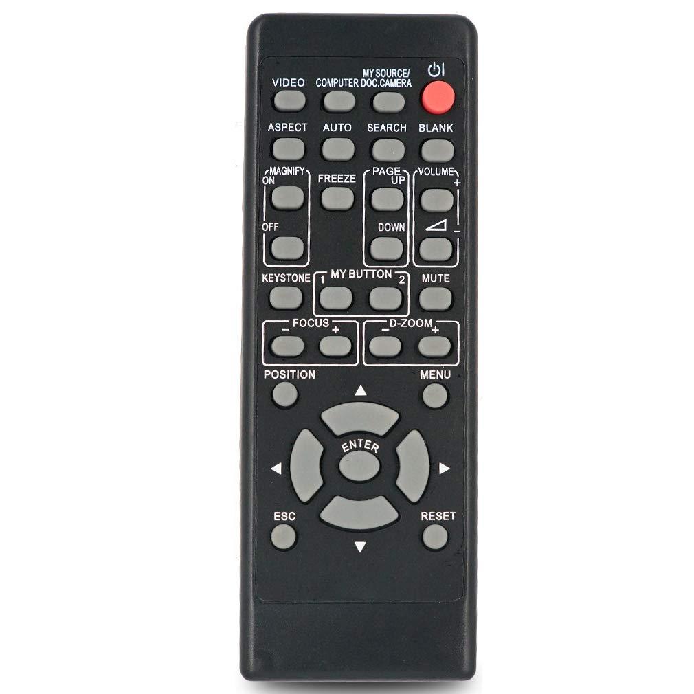 INTECHING TEQ-REM4 Projector Remote Control for TEQ TEQ-C6989, C6993WN, C7487WM, C7489, C7489M, C7989M, C7993N, C7994N, W6989M, Z780M, Z781N, Z782WN, Z800, Z801N, Z900, ZW751N, Z900, ZW750 by INTECHING