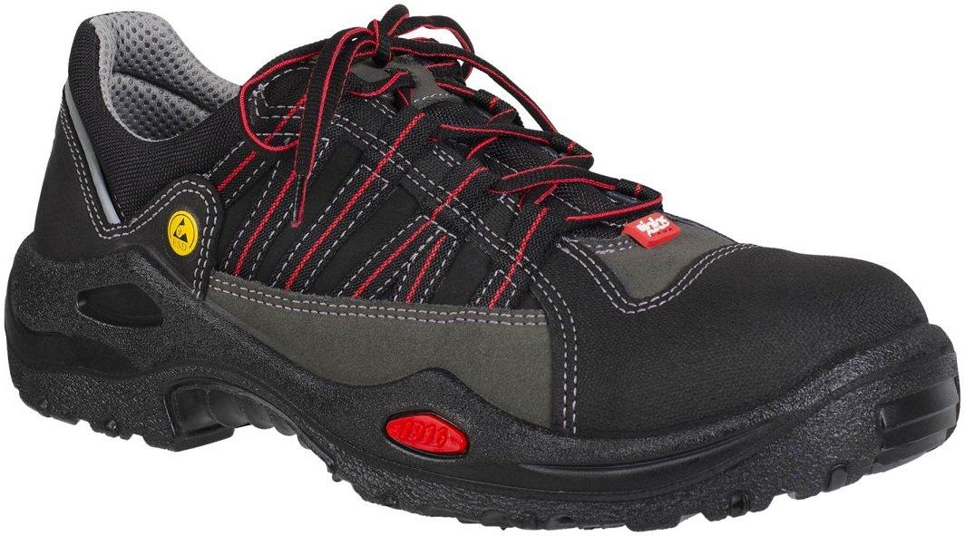 Ejendals 1615–43 Größe 109,2 cm Jalas 1615 E-Sport Sicherheit Schuhe – Schwarz Grau Rot
