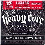 Dunlop DHCN1254 Heavy Core Nickel Wound Guitar Strings, Heaviest, .012-.054, 6 Strings/Set