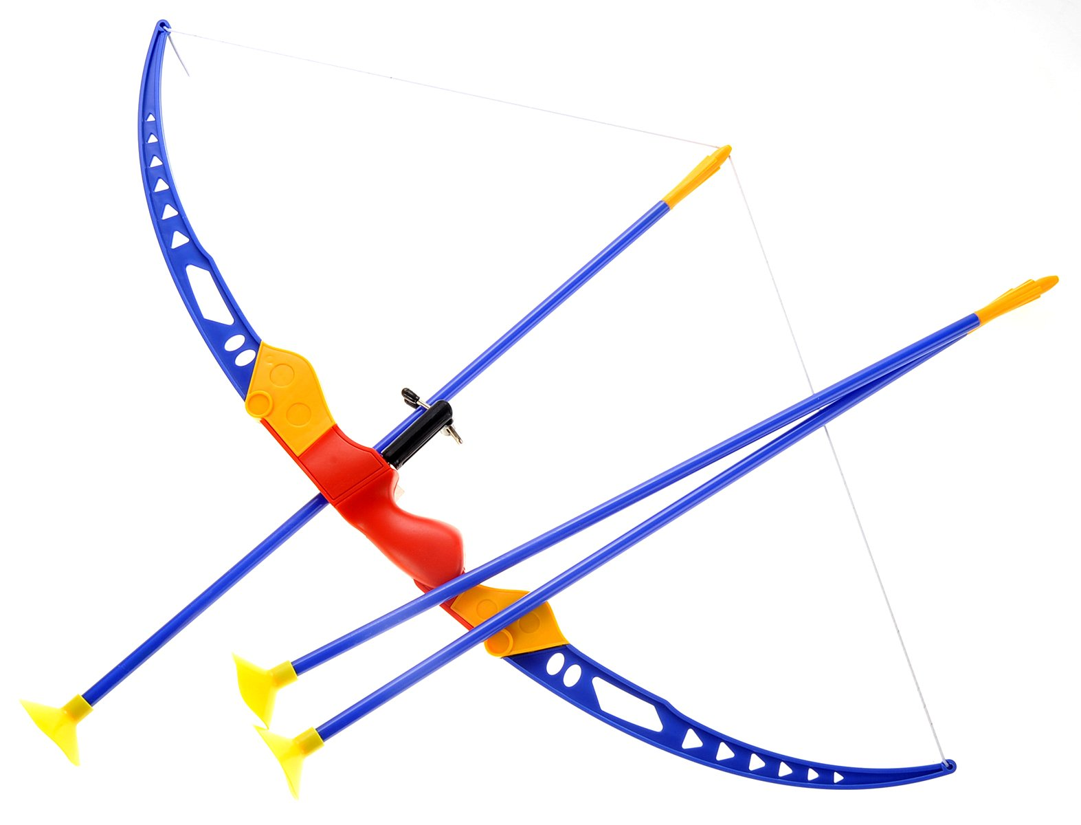 PowerTRC Sport Super Archery Children's Kid's Toy Bow And Arrow Dart Playset W/Suction Arrows