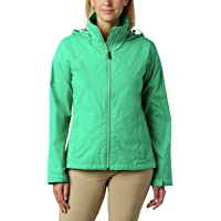 Columbia Chamarra Switchback III, Impermeable y Transpirable, Plegable Chaqueta Impermeable para Mujer