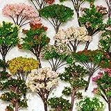 NW 32pcs 0.79-6.30inch Mixed Model Trees