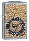 Zippo US Navy Seal Pocket Lighter, Street Chrome