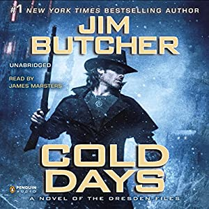 Cold Days Audiobook