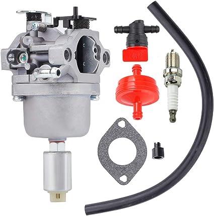 Carburetor Kit for Craftsman LT1000 Mower w Briggs Stratton 17.5 HP Intek Motor