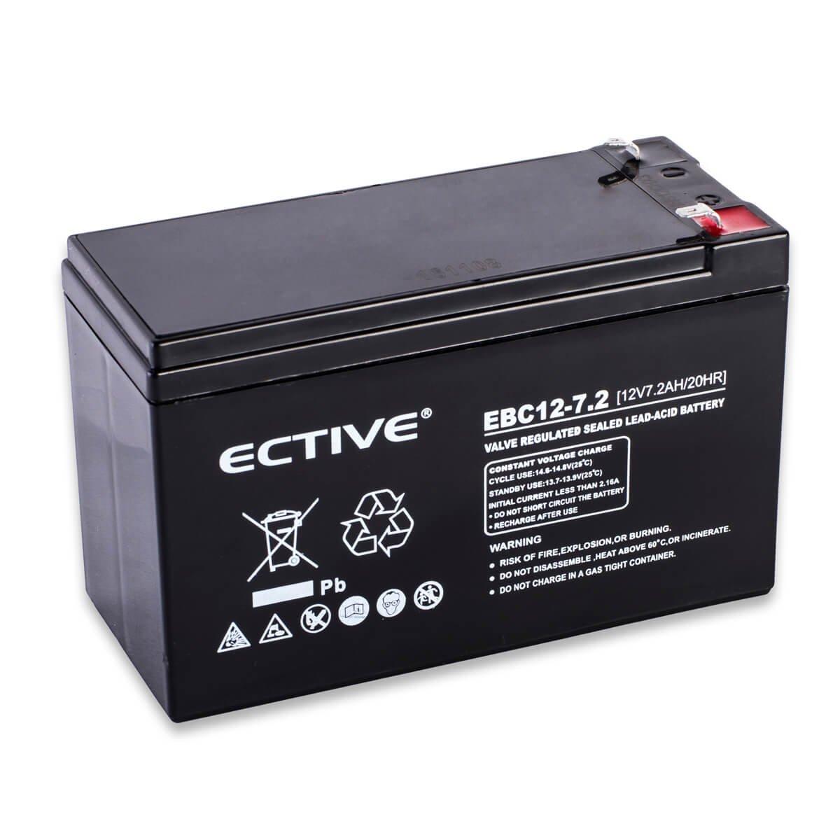 Ective Bleiakku 12v 23ah Zyklenfester Blei Akku Elektronik 12 Volt 24 Lead Acid Battery Charger Circuit Skema Elektronika