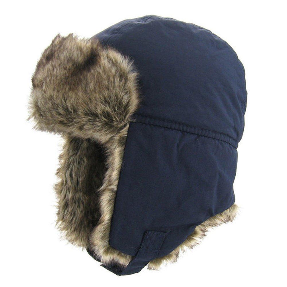 fa6b44902d8c9 Fancy Luu Bomber Cap Enfants Unisexe Chapeau d'hiver Garçon Cache-Oreilles  Chaud Capuche Confortable Chapeau en Peluche: Amazon.fr: Vêtements et  accessoires