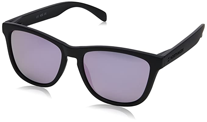 Northweek Regular, Occhiali da Sole Unisex-Adulto, Multicolore (Rosa), 52