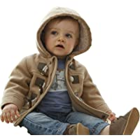 MissChild Baby Boys & Kids Jackets for Winter Hooded Quilted Outwear Coat Thick Warm Clothes