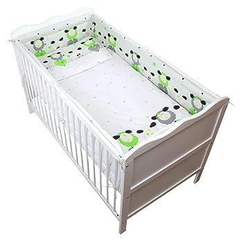 Tuptam Baby Bettwäsche Mit Nestchen 3 Tlg Farbe Schäfchen Grün