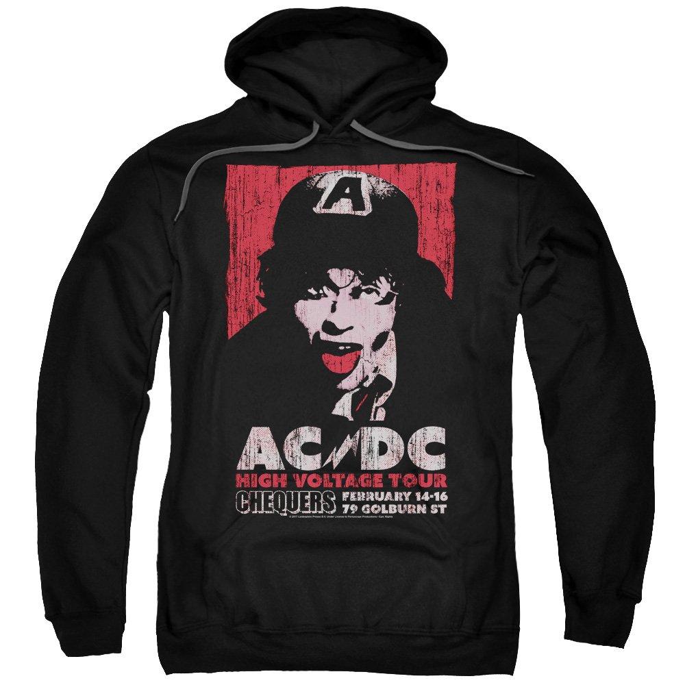 AC DC Herren High Voltage Live 1975 Kapuzenshirt