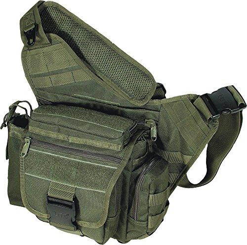 UTG Multi-Functional Tactical Messenger Bag, OD Green ()