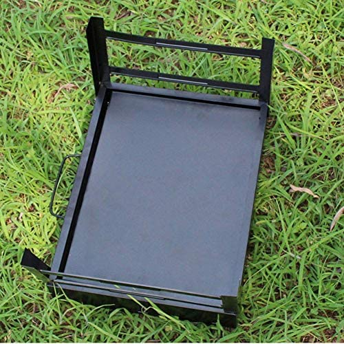 Barbecue Barbecue au charbon Barbecue Smoker pliant portable for Cuisine de plein air Camping Randonnée pique-niques de grande taille for 5-10 personnes xiao1230