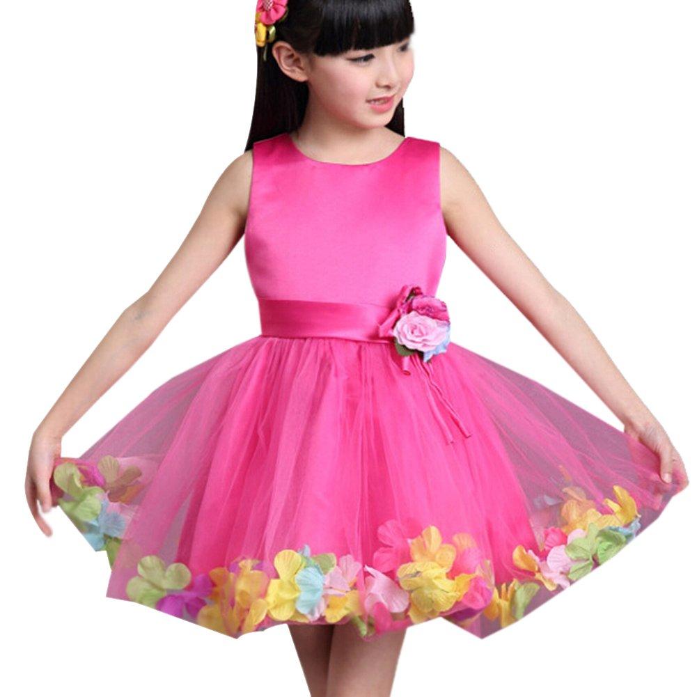 Moin vestidos para fiesta niñas sin mangas del Festival de danza de ...