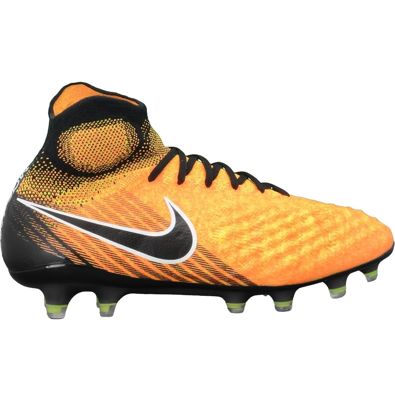Nike Mens Magista Obra Ii Fg Soccer Cleat Black Laser Orange