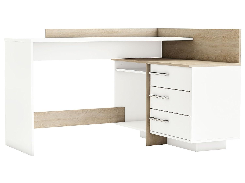 Möbelando Eckschreibtisch Schreibtisch Arbeitstisch Bürotisch Bürotisch Bürotisch Computertisch Tisch Thales a99e6f